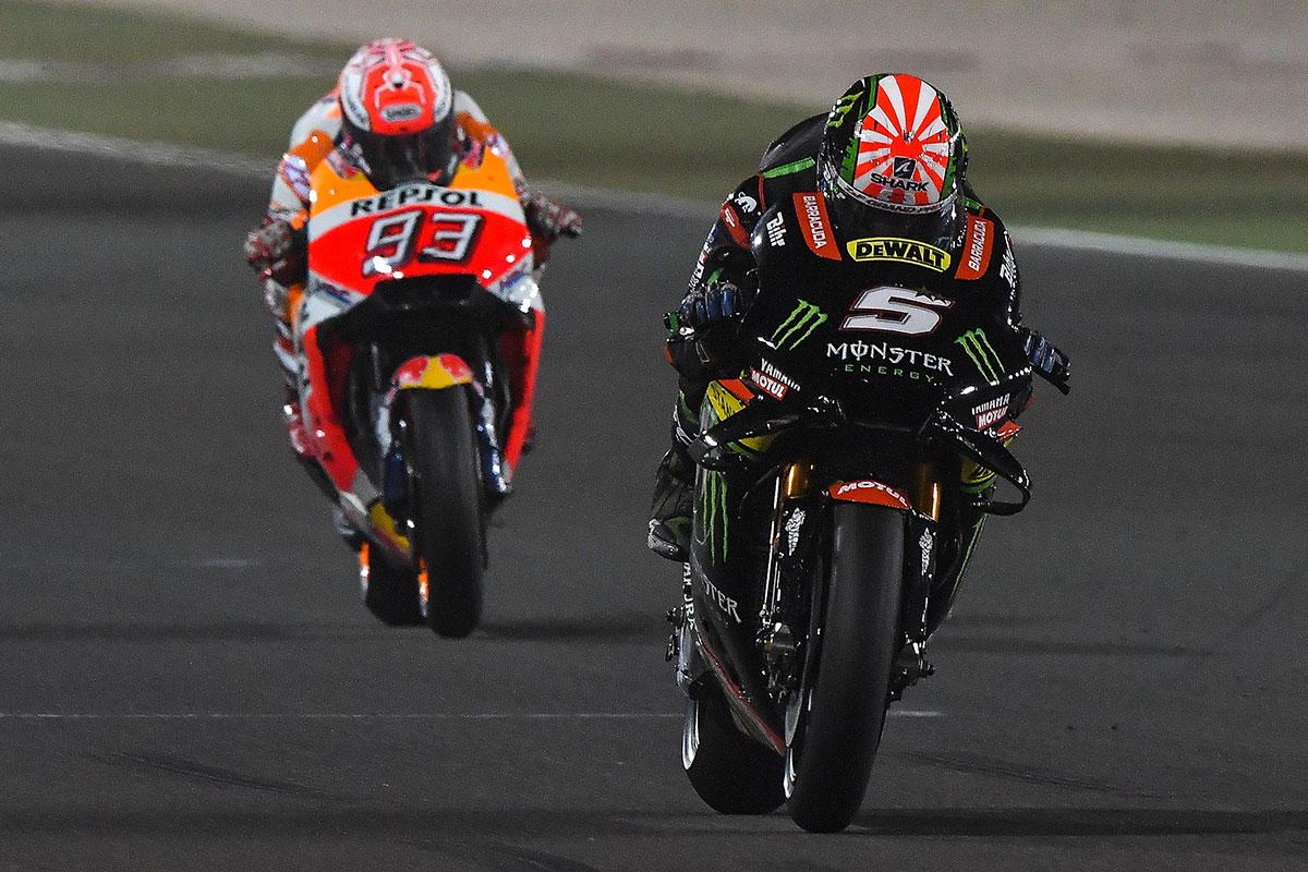 Zarco y Márquez © Dorna MotoGP